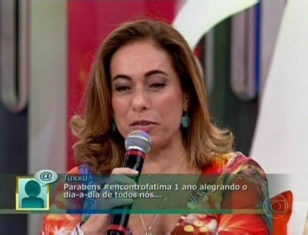 A atriz Cissa Guimarães falou sobre as mudanças em sua vida no período de um ano