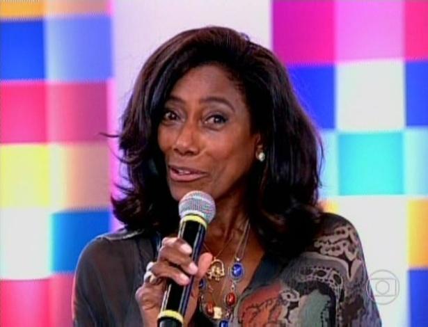 A jornalista Glória Maria parabenizou Fátima Bernardes