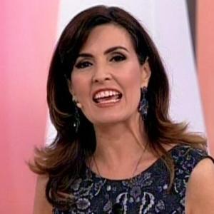 A apresentadora Fátima Bernardes