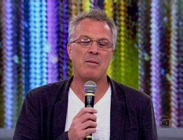 O jornalista Pedro Bial deixou um depoimento para a apresentadora