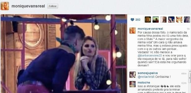 Namorado de Bárbara fica furioso após flerte entre a modelo e Mateus Verdelho