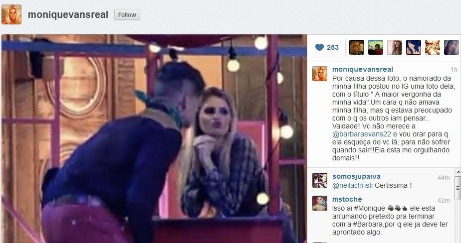 26.jun.2013 - Namorado de Bárbara fica furioso com flerte entre a modelo e Mateus Verdelho