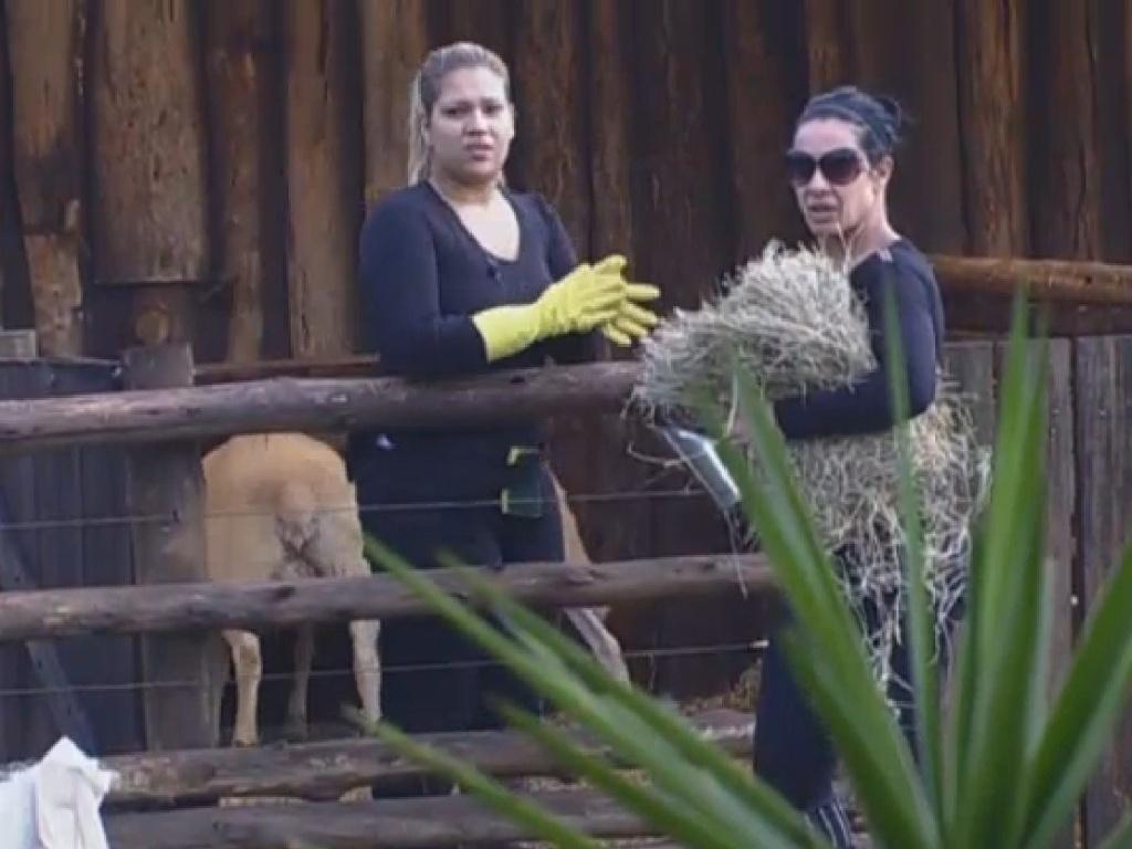 27.jun.2013 - Depois de Mateus Verdelho, Mulher Filé também leva bronca de caseiro