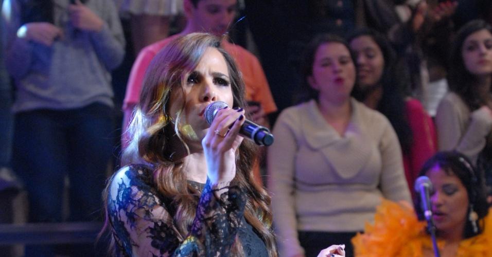 Wanessa também cantou em homenagem a Serginho