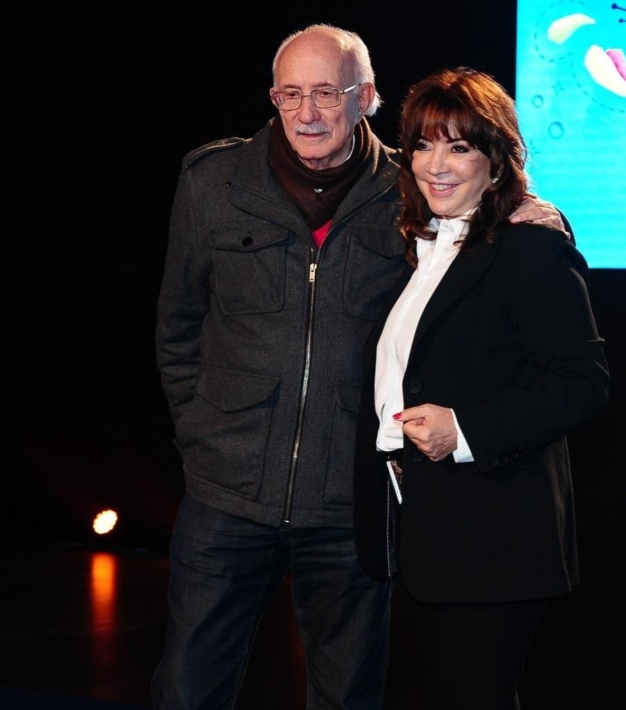 2.jul.2013 - O diretor Reynaldo Boury e a autora Íris Abravanel falam sobre a nova versão de