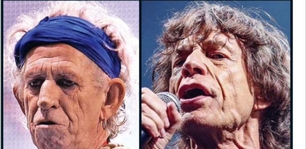 Keith Richards e Mick Jagger são ironizados na capa do