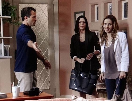 """Em """"Amor à Vida"""", advogada aconselha Bruno a mentir sobre origem de Paulinha"""