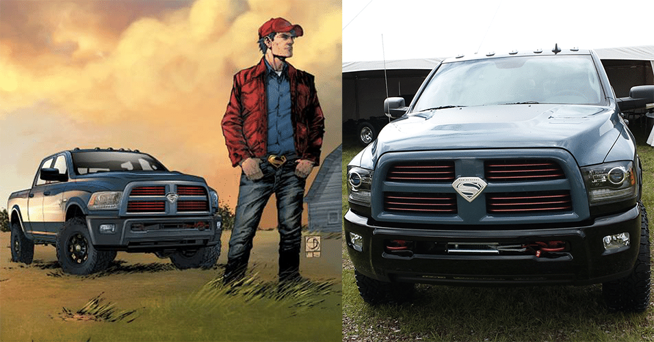 RAM 2500 Power Wagon Man of Steel Edition