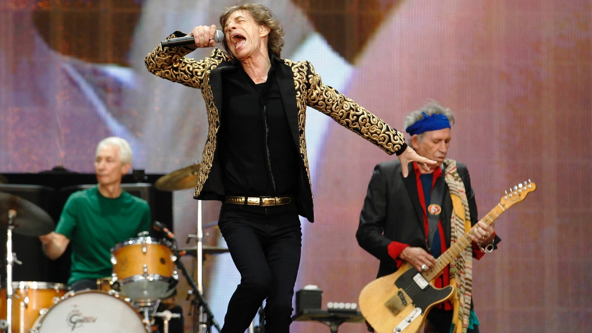 Rolling Stones se apresenta ao Hyde Park 01