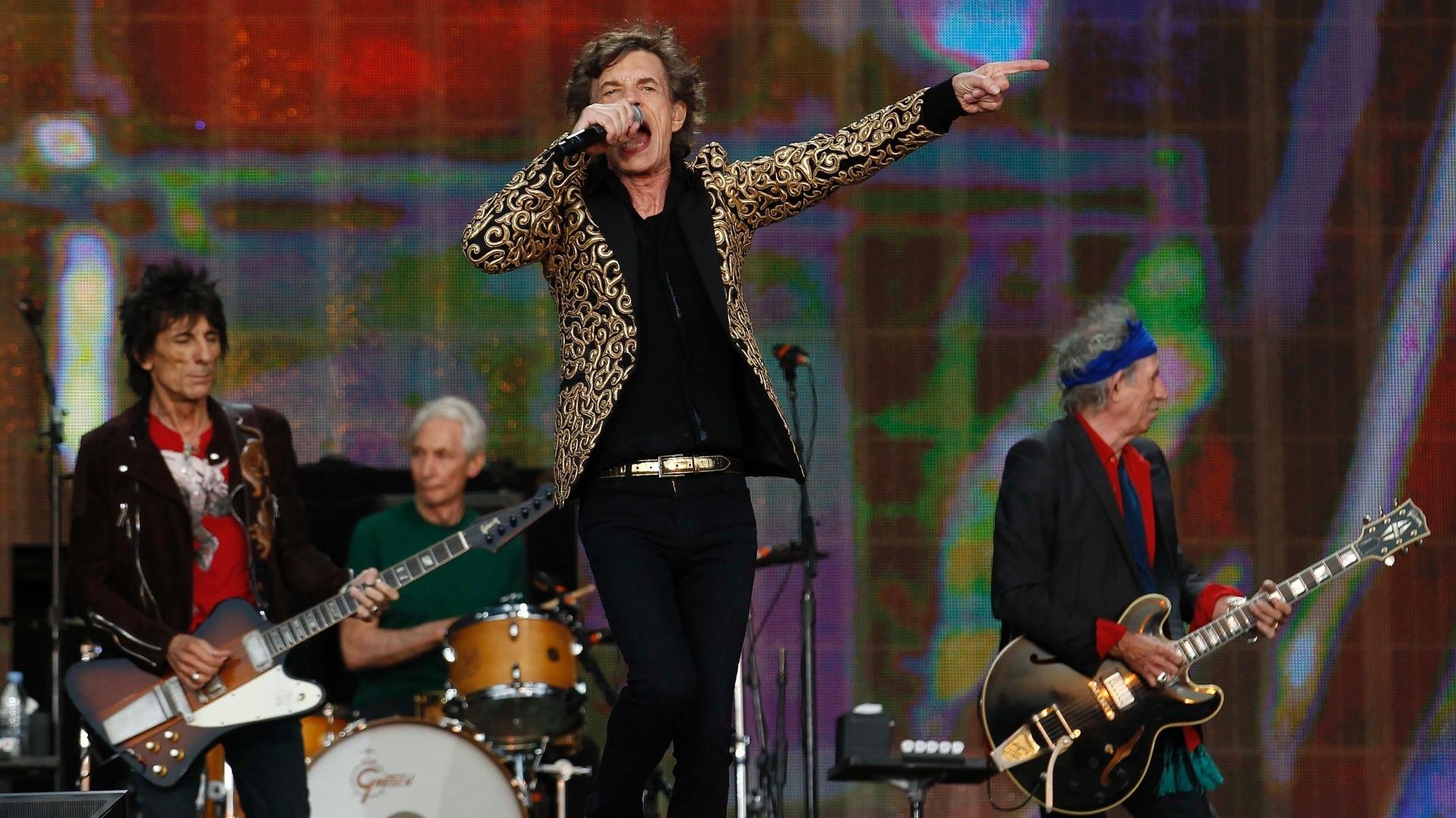 Rolling Stones se apresenta ao Hyde Park 02