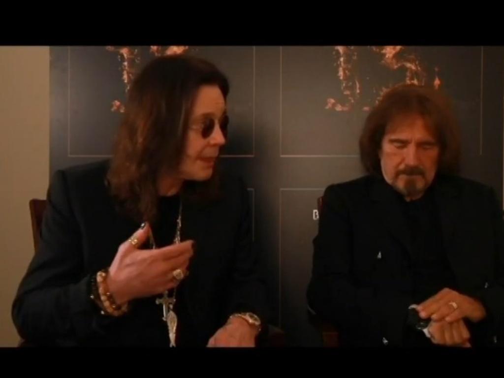 Jul.2013 - Ozzy Osbourne o baixista Geezer Butler em entrevista ao