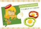 Aprenda uma receita bem bonita que leva ovo e piment�o