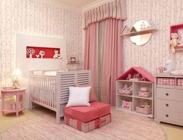 Veja ambientes decorados a partir de uma cor predominante  ~ Um Quarto Rosa