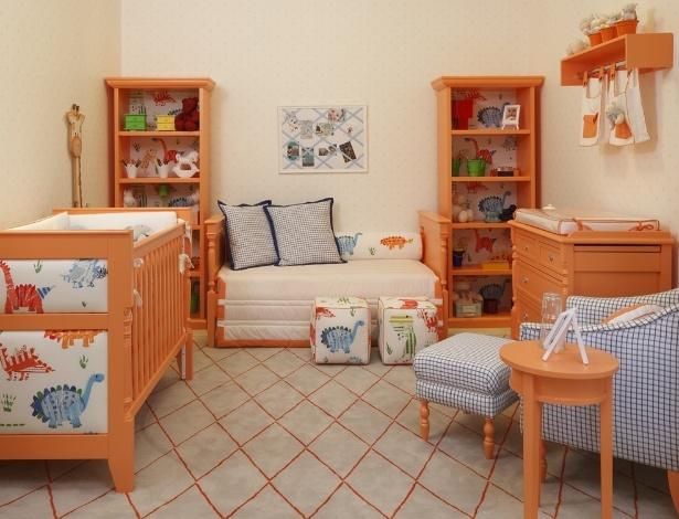 Veja ambientes decorados a partir de uma cor predominante  ~ Um Quarto De Laranja Blog