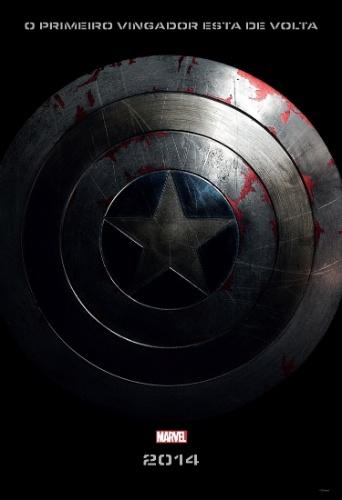 """Primeiro teaser pôster nacional de """"Capitão América 2: O Soldado Invernal"""""""