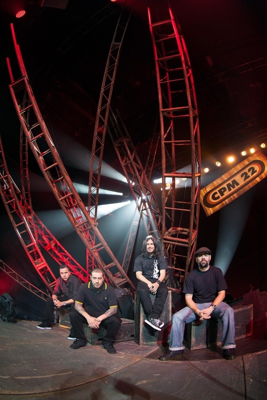 11.jul.2013 - De acordo com a assessoria da banda, o projeto mostra uma fase mais