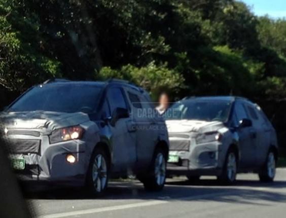 Chevrolet Tracker flagra