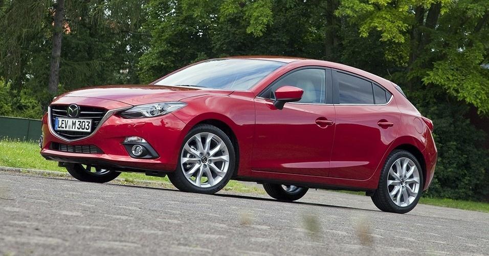 Mazda 3 hatch e sedã