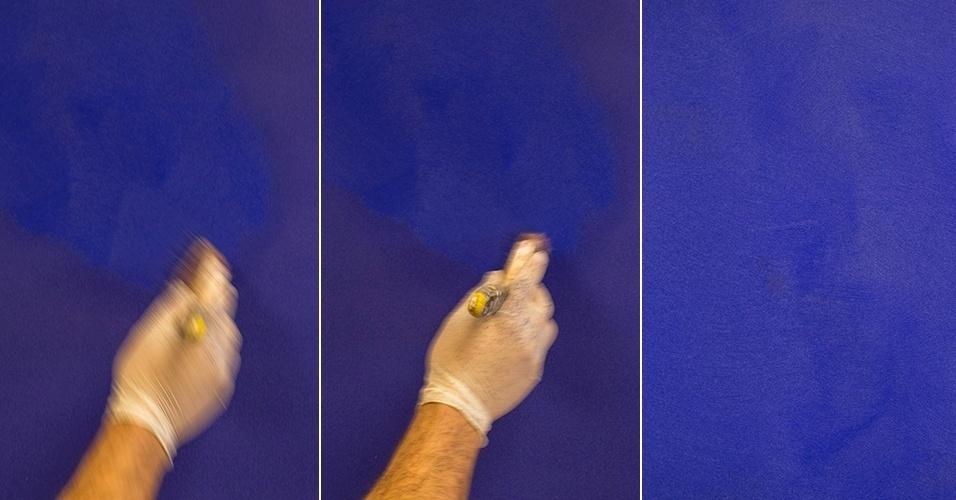 passo a passo pintura camurça - parede