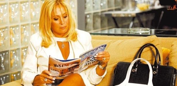 13.set.2007 - Susana Vieira durante gravação da novela