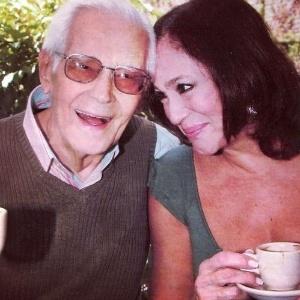 Susana Vieira e o pai, Marius, morto aos 94 anos em 2009