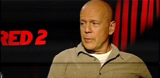Bruce Willis em entrevista ao