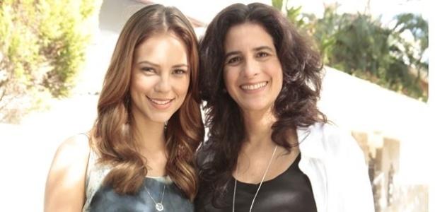 """... grava suas primeiras cenas como mãe de Paloma em """"Amor à Vida"""