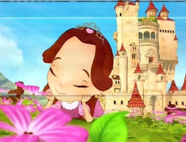 Mili conta a história de uma princesa que tem um pai tirano