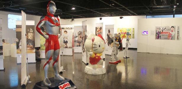 """A exposição """"Japão: Reino dos Personagens"""" fica no Museu Histórico Nacional até o dia 12 de janeiro de 2014"""
