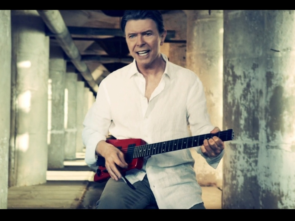 David Bowie no clipe de
