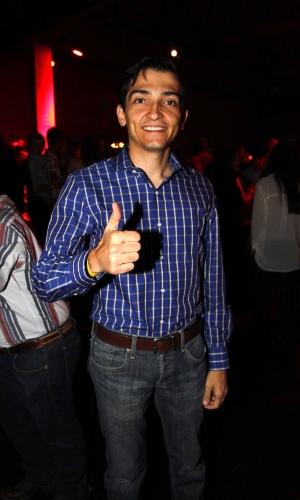 16.jul.2013 - Guilherme Avila, prefeito de Barretos, durante evento de lançamento da 58ª Festa do Peão de Barretos no Villa Country, em São Paulo