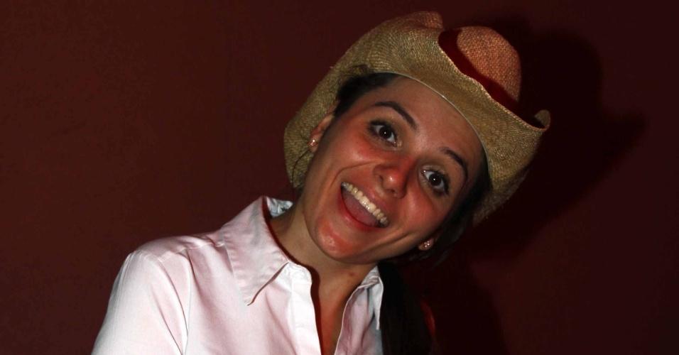 16.jul.2013 - Monica Iozzi durante evento de lançamento da 58ª Festa do Peão de Barretos no Villa Country, em São Paulo