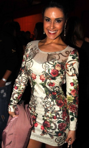 16.jul.2013 - Nadja Haddad durante evento de lançamento da 58ª Festa do Peão de Barretos no Villa Country, em São Paulo