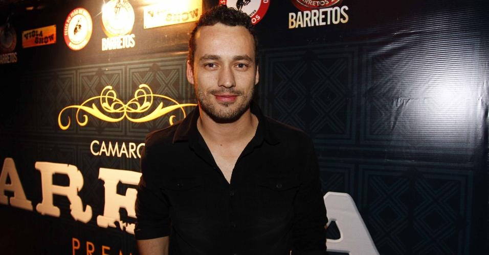 16.jul.2013 - O ator Rodrigo Andrade durante evento de lançamento da 58ª Festa do Peão de Barretos no Villa Country, em São Paulo