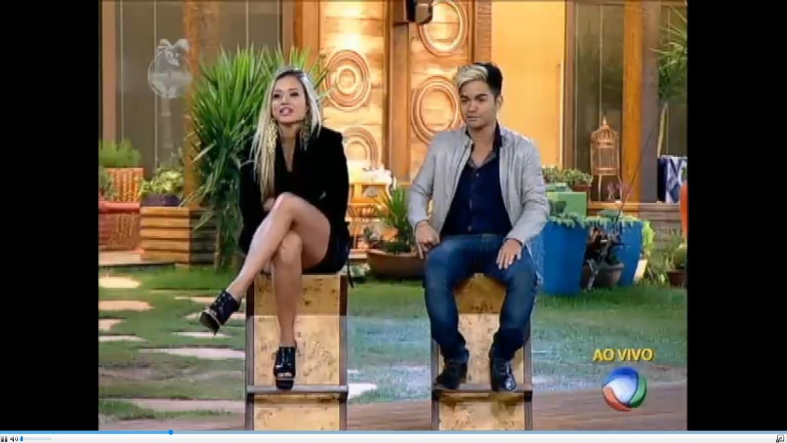 Aryane e Yudi se enfrentaram na terceira roça do programa; o apresentador permaneceu no reality com 52% dos votos