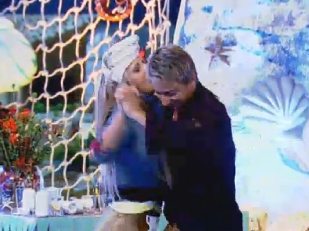 18.jul.2013 - Paulo Nunes dança com Denise Rocha