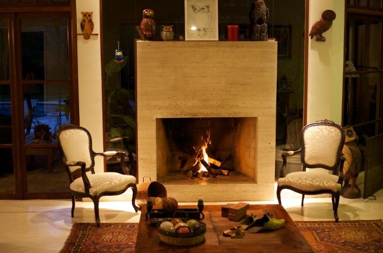 Imagens Sala De Estar Com Lareira ~ Lareiras compõem salas aconchegantes e espaços de relaxamento para o