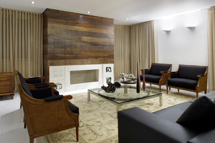 Lareira Em Sala Pequena ~ Lareiras compõem salas aconchegantes e espaços de relaxamento para o