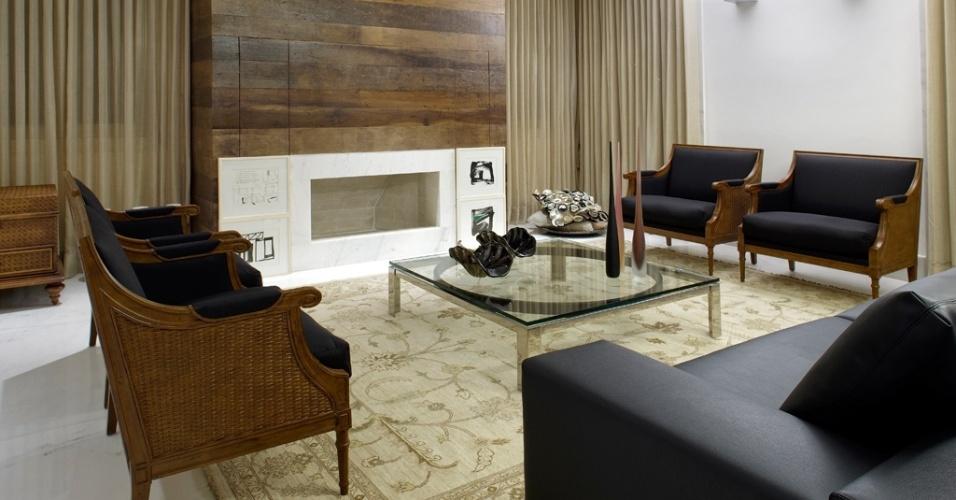 A arquiteta Cristina Menezes atendeu ao desejo dos clientes em ter uma