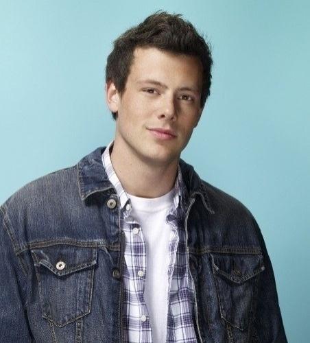 "Cory Monteith em ""Glee"""