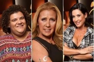 20.jul.2013 - Gominho, Rita Cadillac e Scheila Carvalho foram indicados à roça