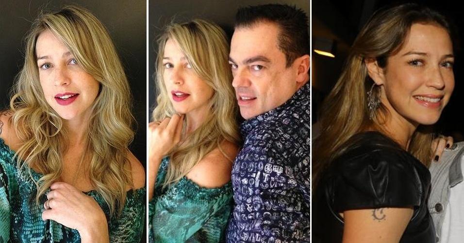 Julho: O cabeleireiro das estrelas Marco Antoni di Biaggi publicou fotos da atriz Luana Piovani em sua conta em redes sociais. A atriz, que irá se casar com Pedro Scooby nesta sexta (26), voltou a ter as madeixas loiras especialmente para a data