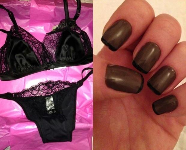 Luana Piovani vai usar lingerie preta na noite de núpcias com Pedro Scooby