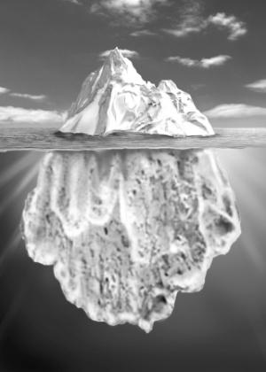Sigmund Freud comparava a mente humana a um iceberg do qual apenas uma pequena parte está visível; a maior parte está submersa e, portanto, oculta como o inconsciente