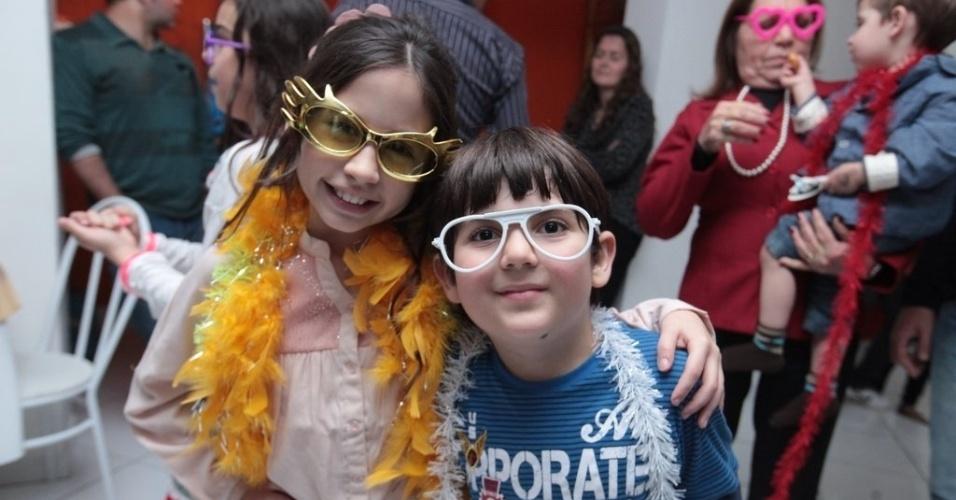 28.jul.2013 - A aniversariante Bianca Paiva, a Lúcia de