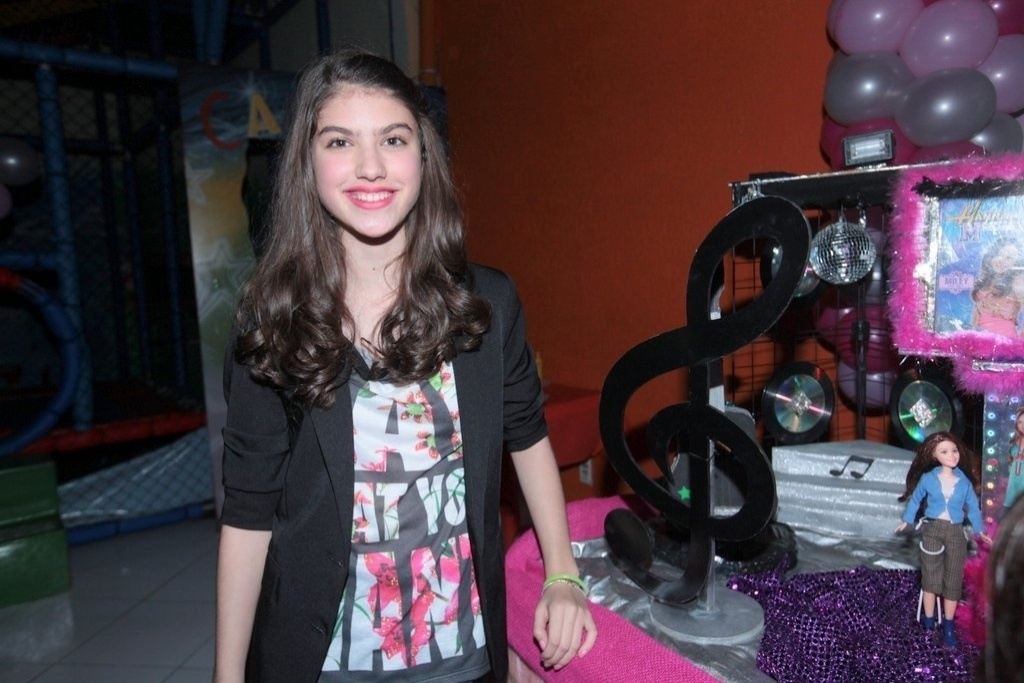 28.jul.2013 - Giovana Grigio, a Mili de
