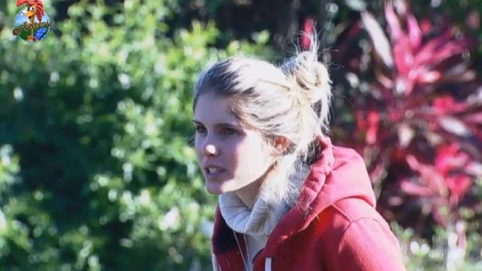 31.jul.2013 - Bárbara conta que Yudi bebeu o leite da cabra sem ferver