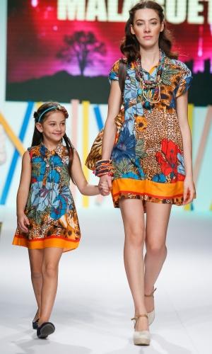31.jul.2013 - A Malagueta propôs looks combinando para mães e filhas