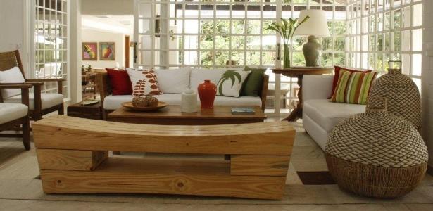 Vinzon Decoracion Living ~ Reforma de casa de praia prioriza amplitude e espa?os claros  01 08