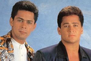 Leandro fazia dupla com irmão Leonardo
